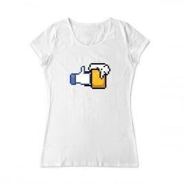 Facebook like beer