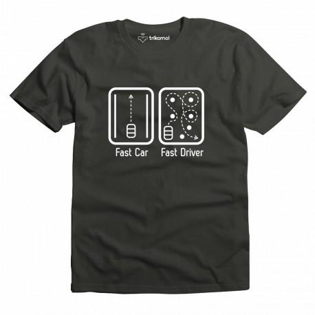 Fast car fast driver
